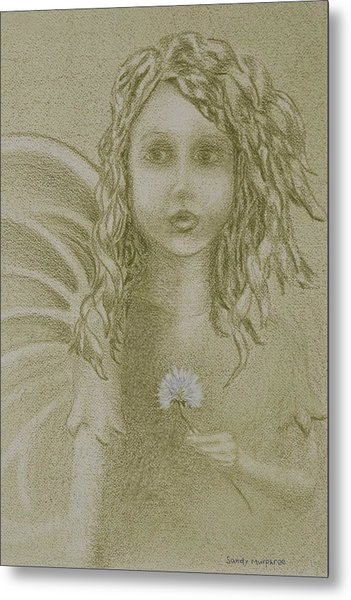 Daughter Of The Wind Metal Print