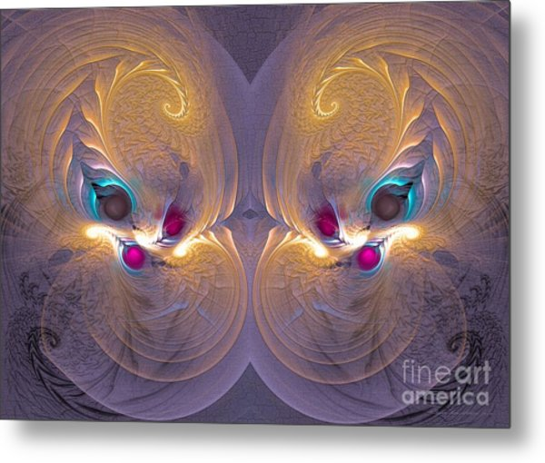 Daughters Of The Sun - Surrealism Metal Print