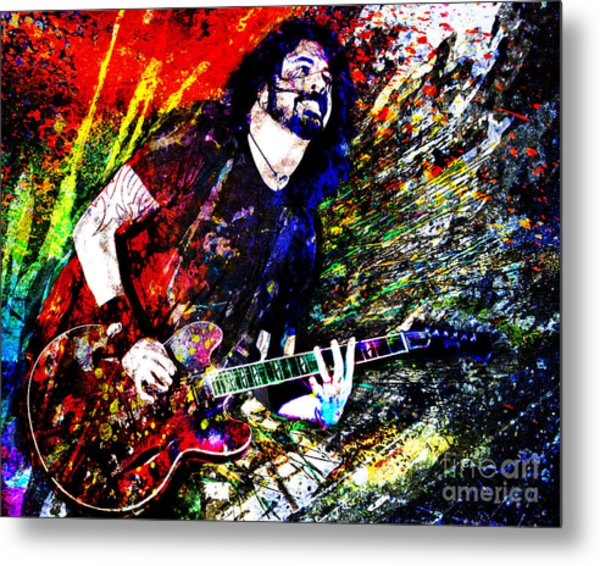 Dave Grohl Art  Metal Print