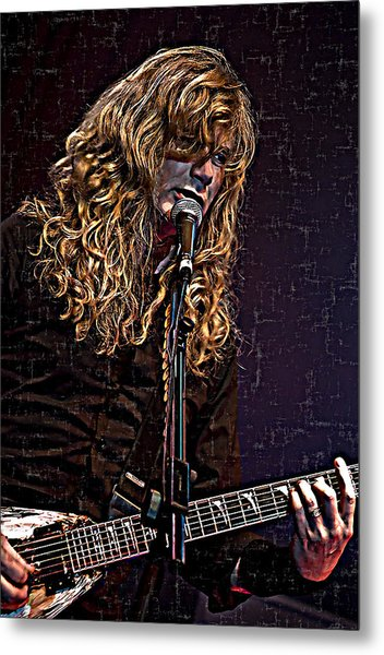 Dave Mustaine 1 Metal Print