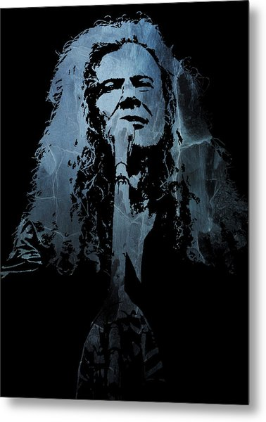 Dave Mustaine - Megadeth Metal Print