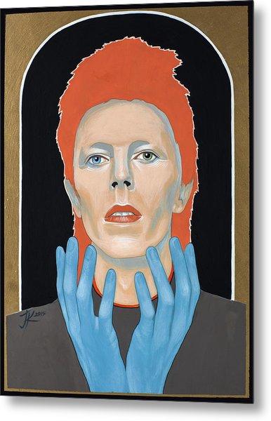 David Bowie 3 Metal Print