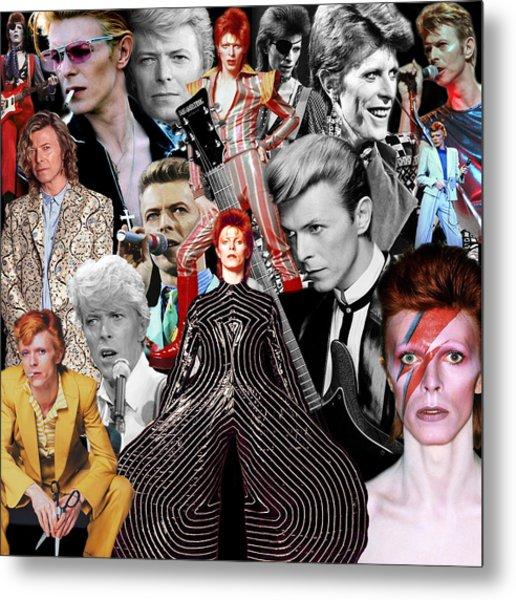 David Bowie 6 Metal Print