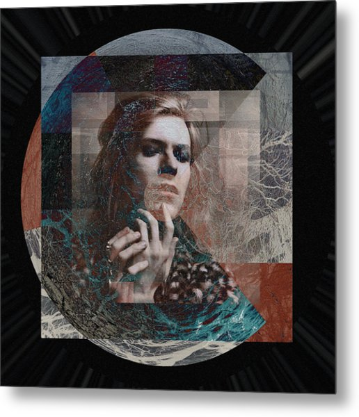 David Bowie Hunky Dory Metal Print by Graceindirain Imagery