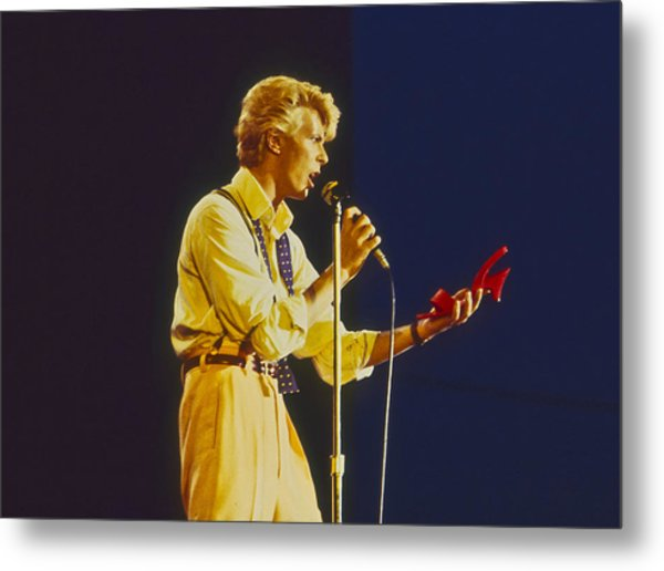 David Bowie Likes Red Shoes Photograph by Philippe Taka
