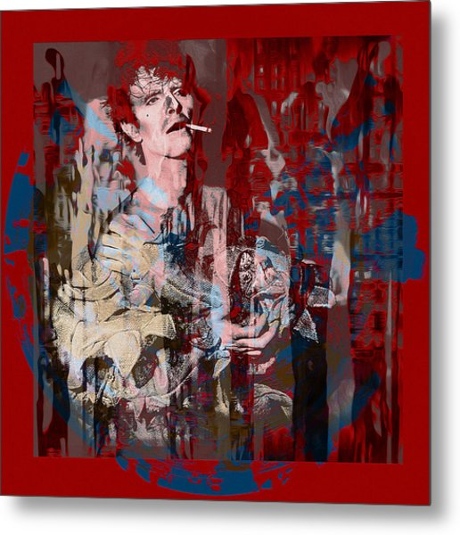 David Bowie    Scary Monsters Metal Print by Graceindirain Imagery