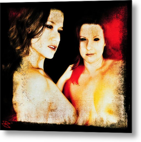 Dawn And Ryli 1 Metal Print