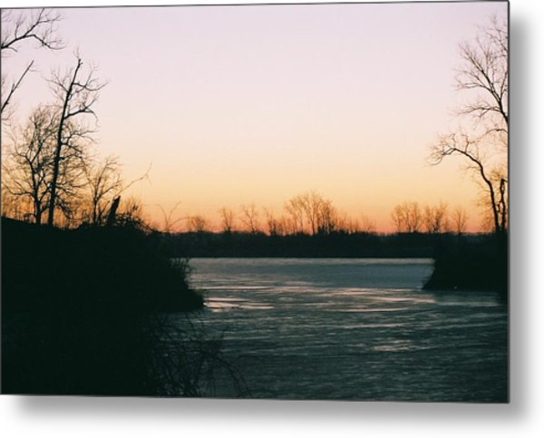 Dawn At Agate Lake Metal Print by C E McConnell
