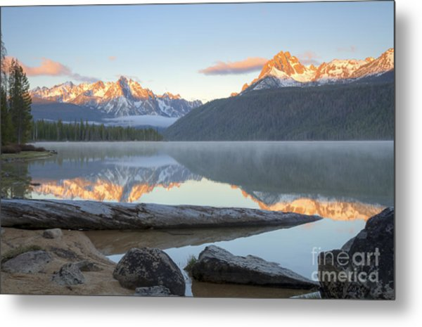 Dawn At Redfish Metal Print