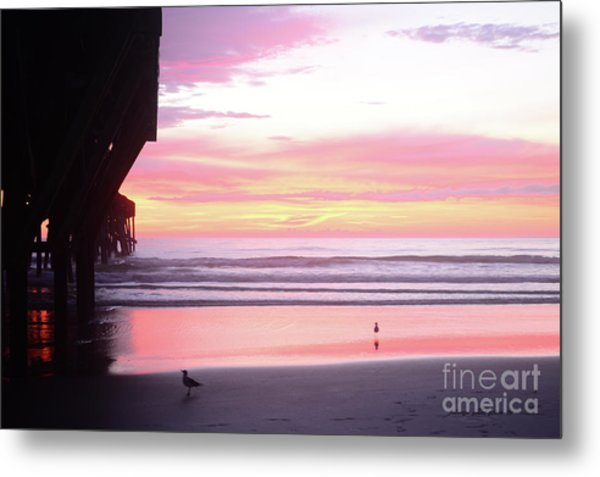 Dawn At The Beach 8-14-16 Metal Print