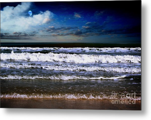 Dawn Of A New Day Seascape C2 Metal Print