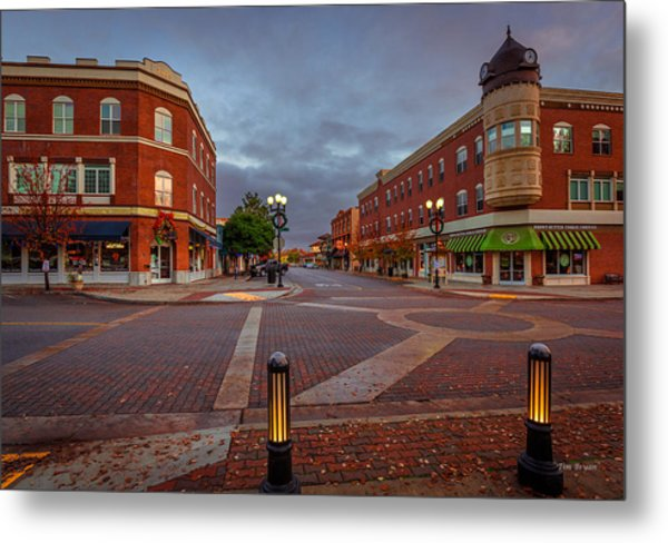 Dawn On Park Street Metal Print