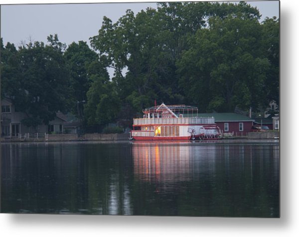 Dawn-st. Joseph River Metal Print