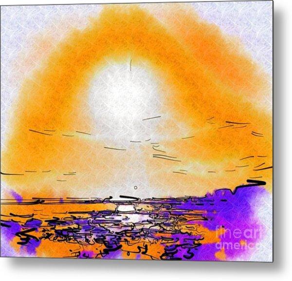 Dawning Metal Print by Deborah Selib-Haig DMacq