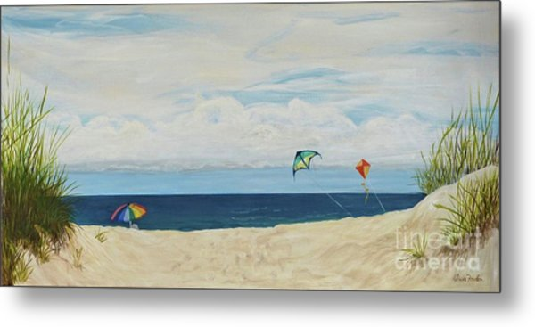 Day On Beach Metal Print