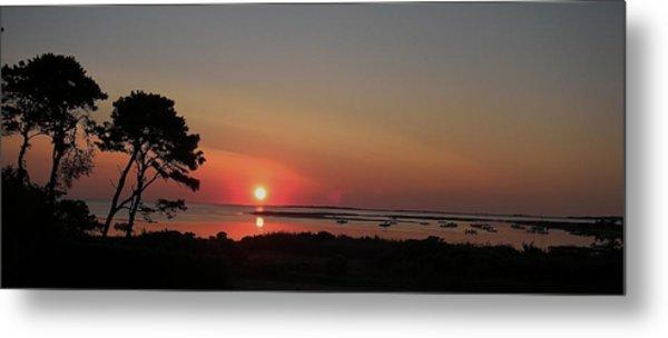 Daybreak In Edgartown Metal Print