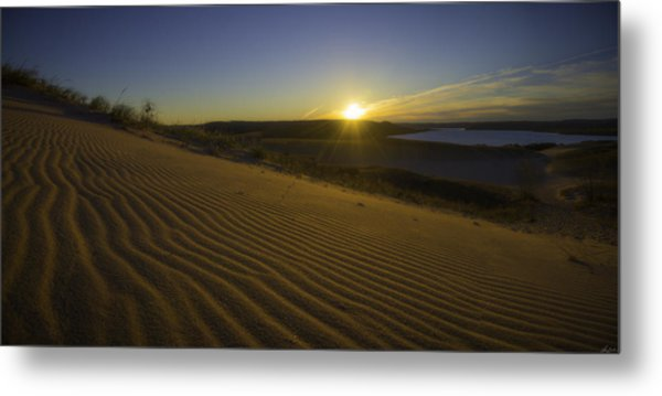 Metal Print featuring the photograph Daybreak On The Dunes by Owen Weber