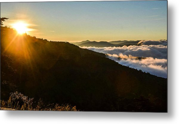 Daylight Above The Clouds Metal Print
