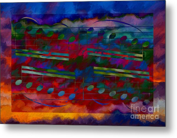Daylight Diminuendo Metal Print