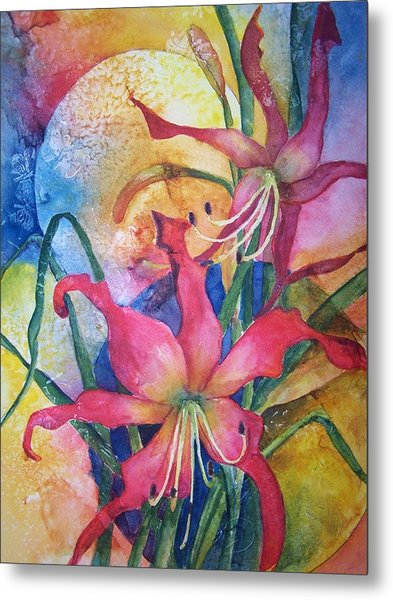 Daylilies In July Metal Print