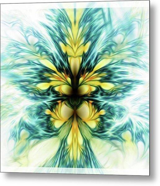 Dayqueen #art #abstract #digitalart Metal Print by Michal Dunaj