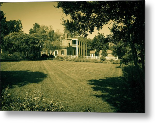 Metal Print featuring the photograph Days Bygone - The Hermitage by James L Bartlett