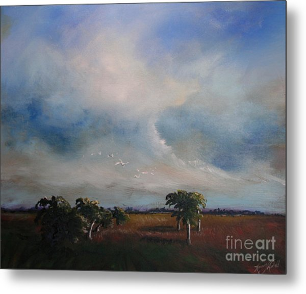 Day's End Metal Print by Michele Hollister - for Nancy Asbell
