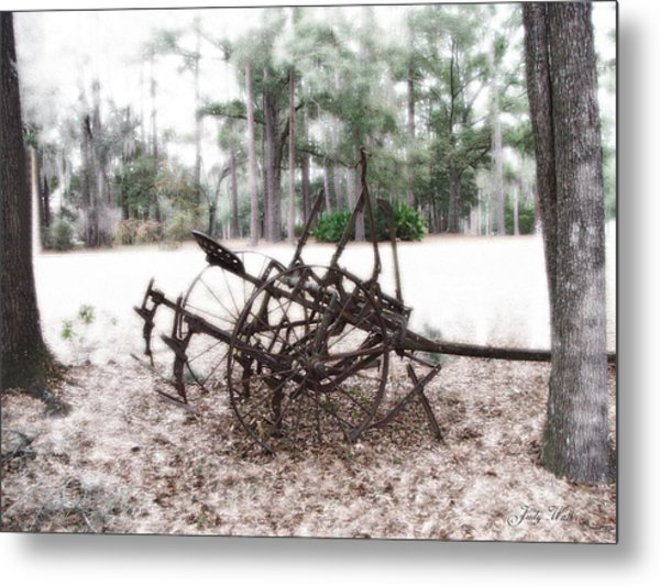 Days Past Metal Print by Judy  Waller