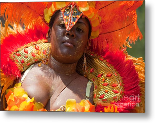 Dc Caribbean Carnival No 22 Metal Print by Irene Abdou