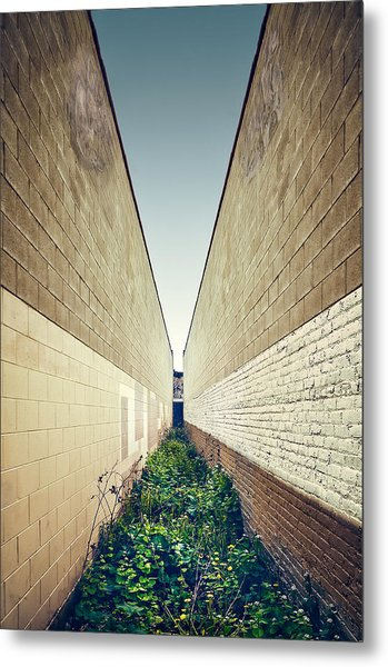 Dead End Alley Metal Print