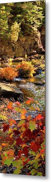 4 Of 6 Dead River Falls  Marquette Michigan Section Metal Print