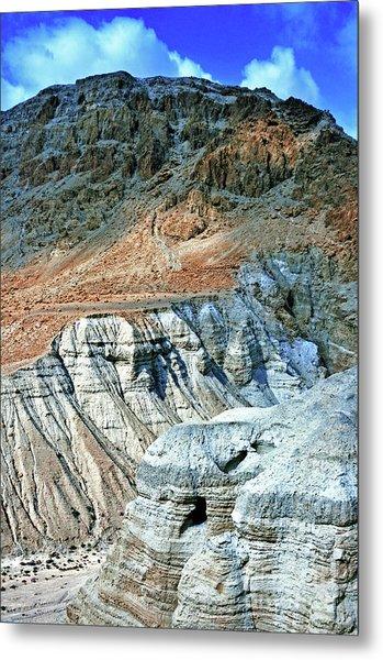 Dead Sea Scroll Caves Metal Print