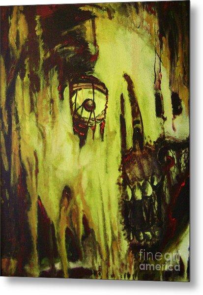 Dead Skin Mask Metal Print