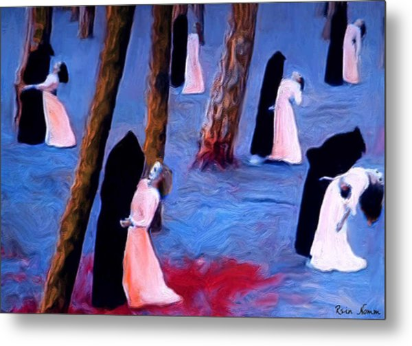 Death And The Maidens Metal Print