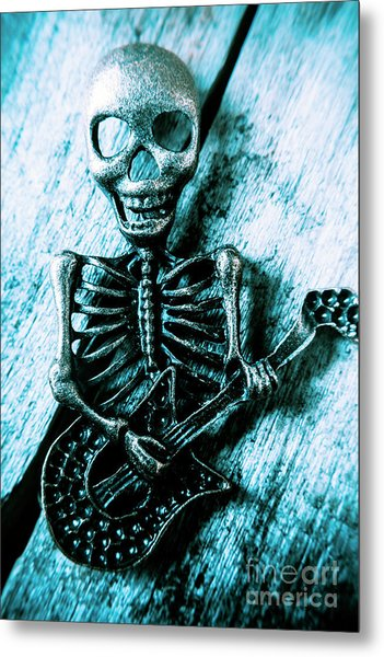 Death Metal Blues Metal Print