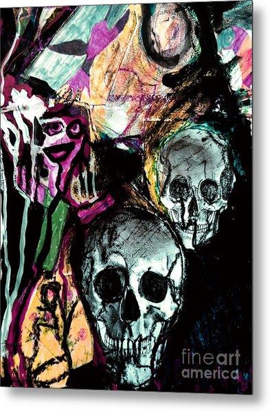 Death Study-2 Metal Print