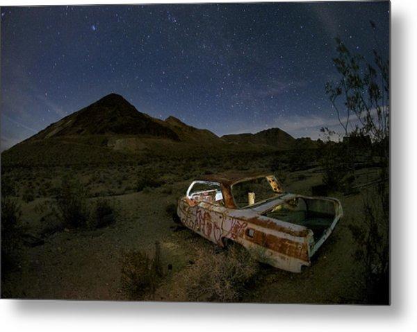 Death Valley Drive-in Metal Print