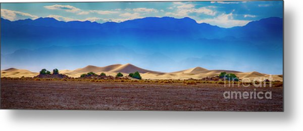 Death Valley Dunes Metal Print