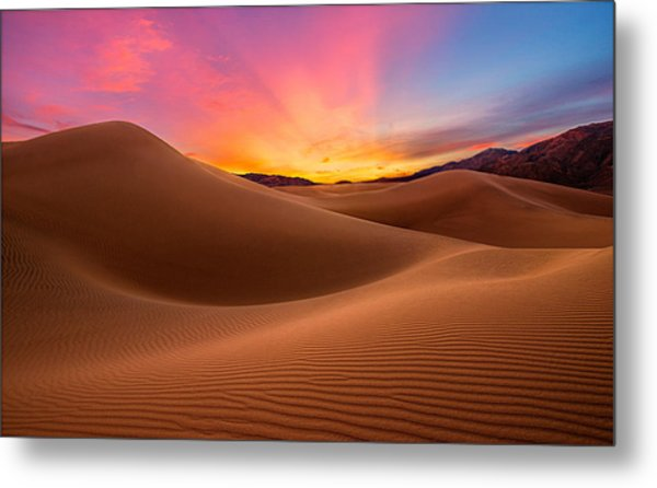 Death Valley Metal Print by Lincoln Harrison