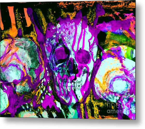 Deathstudy-1 Metal Print