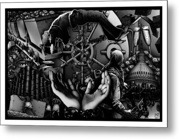 Debt To America Metal Print