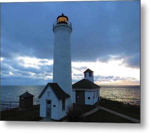 December Light, Tibbetts Point  Metal Print