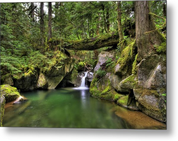 Deception Creek Metal Print