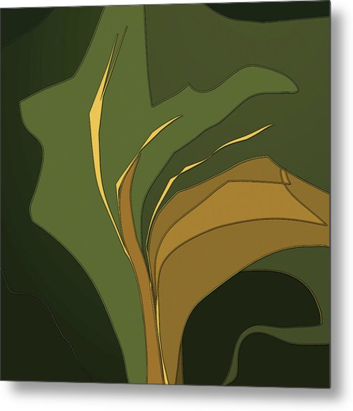 Deco Tile Metal Print