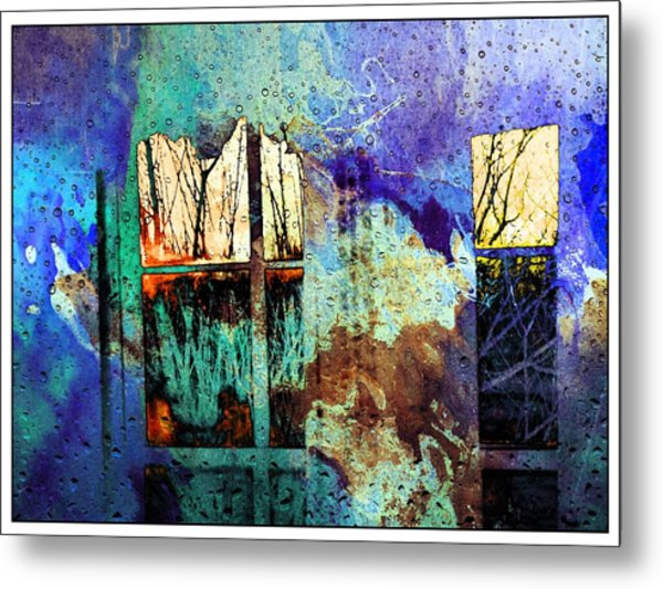 Deconstruction #33 Metal Print
