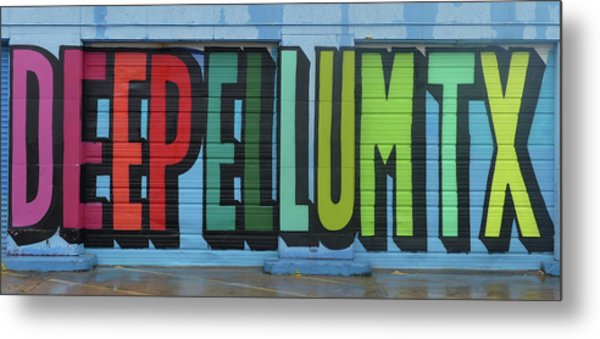 Deep Ellum Wall Art Metal Print