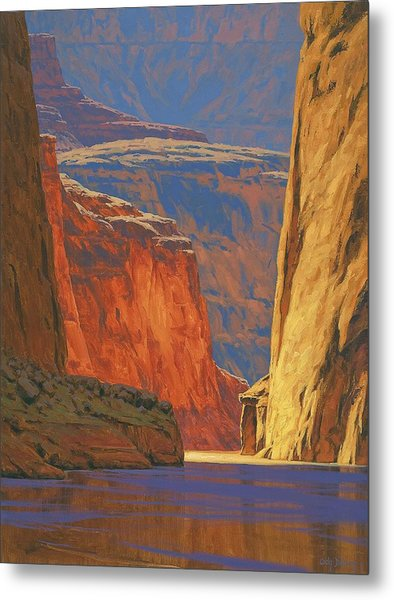 Deep In The Canyon Metal Print