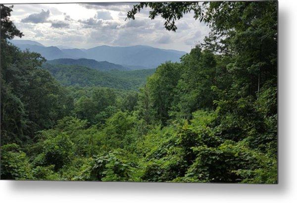 Deep In The Great Smoky Mountains Metal Print by John Arthur Robinson