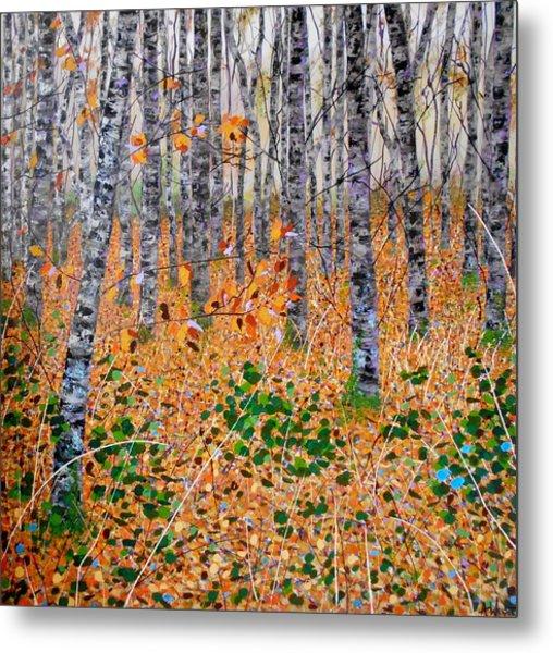 Deep In The Woods- Large Work Metal Print