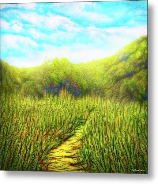 Deep Meadow Tranquility Metal Print